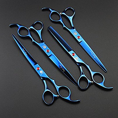 Estuche tijeras 7 pulgadas azul