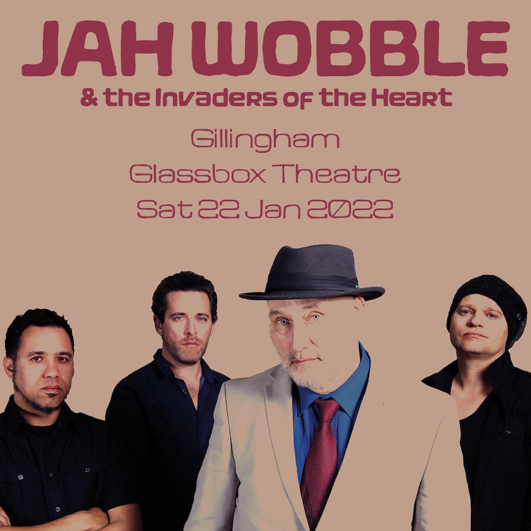 AGMP presents JAH WOBBLE & THE INVADERS OF THE HEART