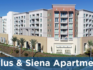 New Stylus & Siena Apartments Adds 300+ Affordable Housing Units in San Diego's Mission Valley