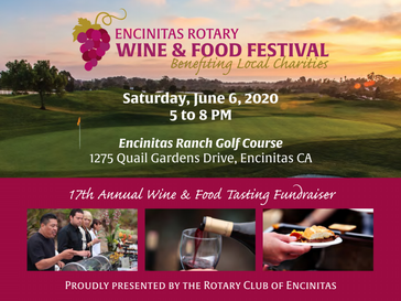 Wine and Dine: Encinitas Rotary Wine & Food Festival 2020