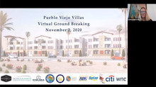 PSCDC Celebrates Pueblo Viejo Villas' Virtual Ground Breaking in Coachella