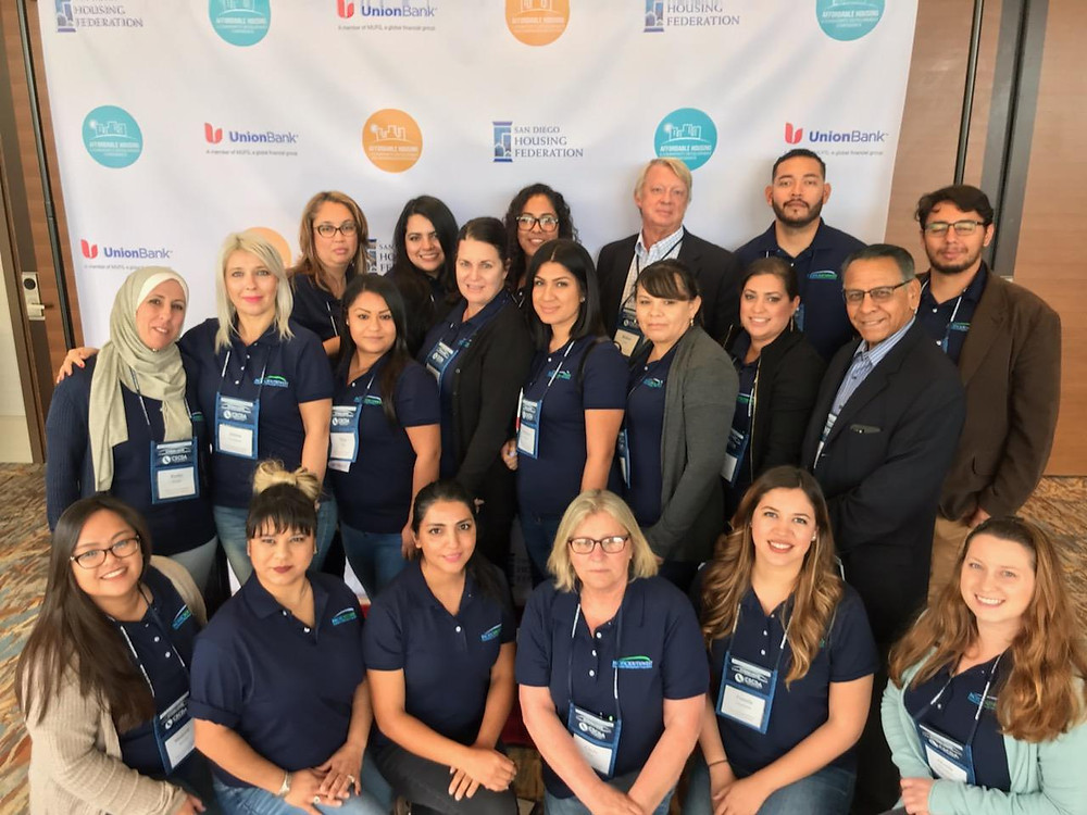 PSCDC Staff Attends the Resident Services Support Network Institute and Affordable Housing Conference in San Diego