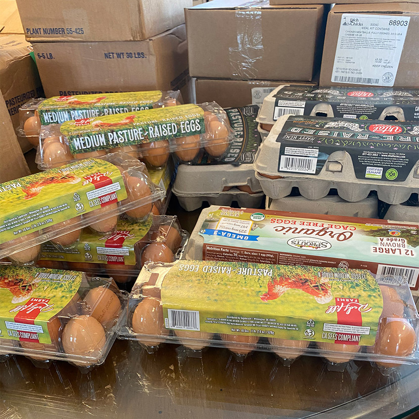 Willow Glen Eggs for Distributions