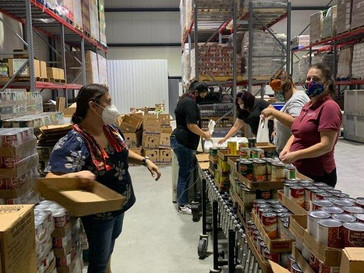 September Food Distributions in Imperial