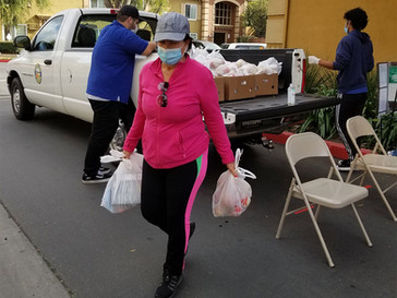 Chatham Village Apartments' Food Distributions Continues Strong Into 2021