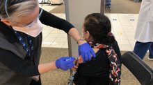 San Diego Residents Receiving COVID Vaccinations and Additional Food Assistance