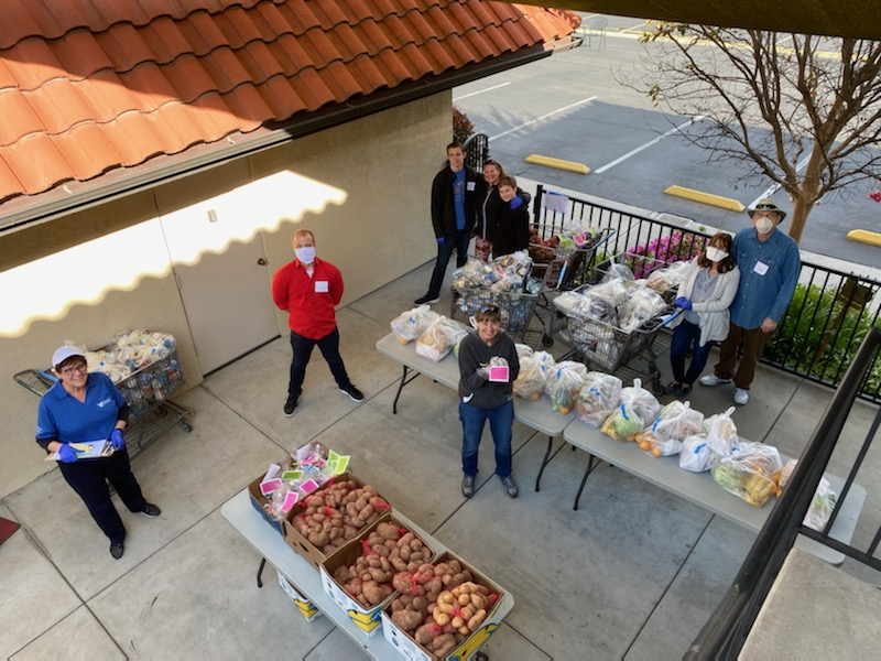 PLC food distribution during COVID (pre-
