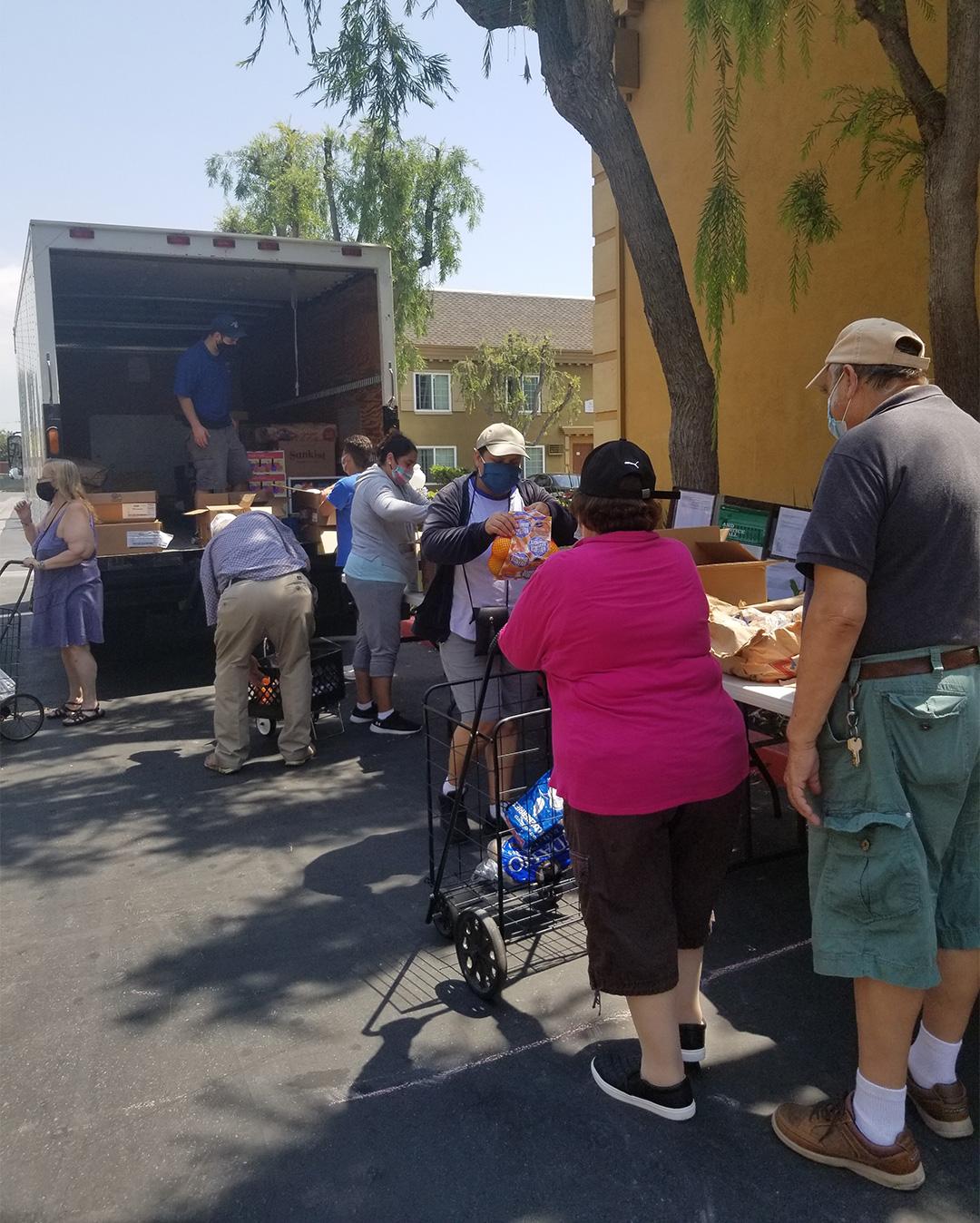 August Food Distribution
