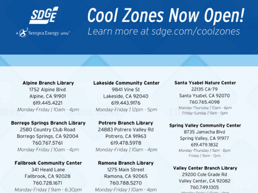 Stay Cool & Save On Energy During Heat Waves with SDG&E