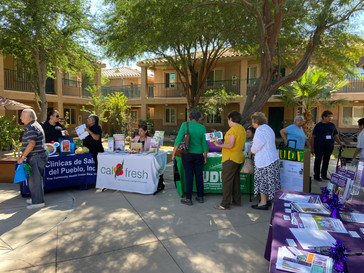 PSCDC and Consulate of Mexico Hosts Health Fair at Villa De Las Flores Apartments in Calexico, CA