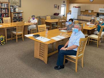 "Villa de las Flores Seniors are ""Buzzing"" About Return of In-person Arts & Crafts Classes"