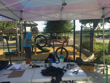 Willow Glen Bicycles Get Tune Ups During Annual Bike Doc Event