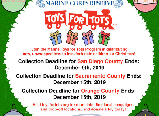 Toys for Tots: Bringing the Joy of Giving To Less Fortunate Children