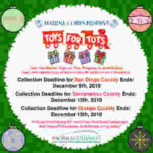 Toys for Tots 2019 Flier