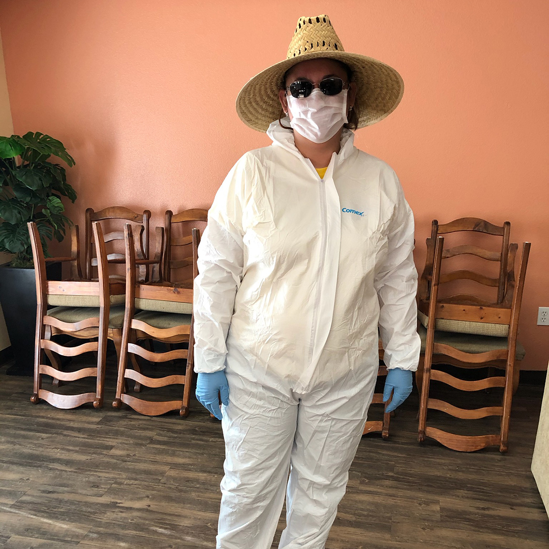 IG Coordinator Suzette Ready for Distrib