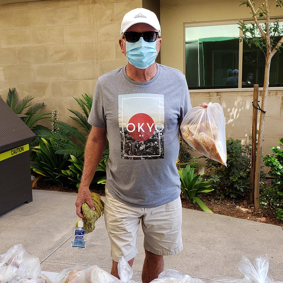 Resident Receiving Bread - Versa (IG)