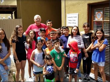 Chatham Village Residents in Orange County Starstruck with Juli Veee Visit