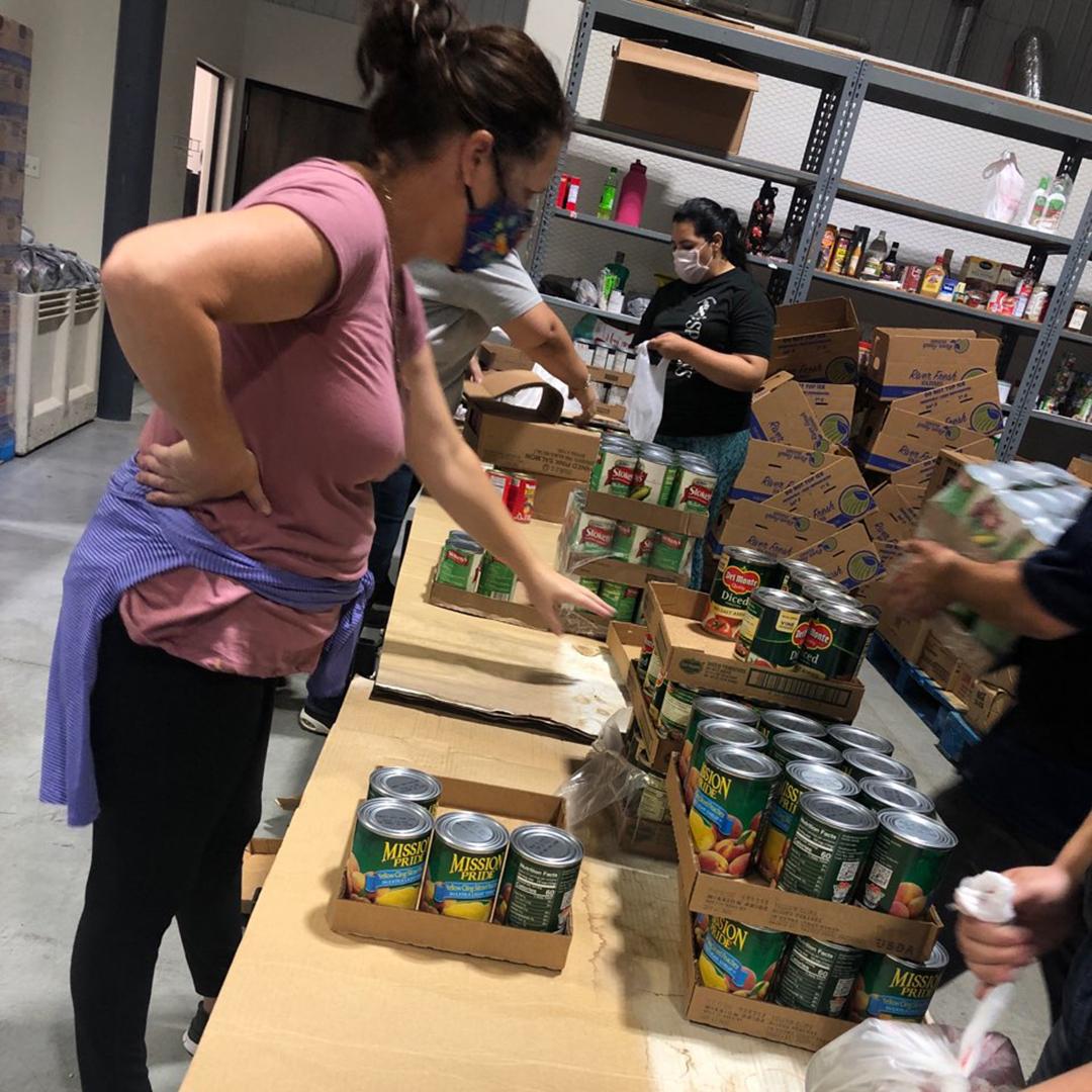 IG PSCDC Coordinators Prepping Food in F