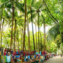 Dominical beach street