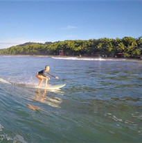 Surfing Dominical