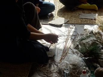 縄綯い・輪飾りワークショップ