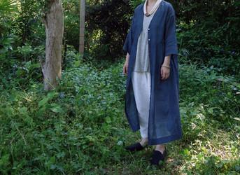 Silk×Cotton Dress