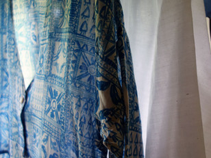 Suno&Morrison Hand Print Fabric