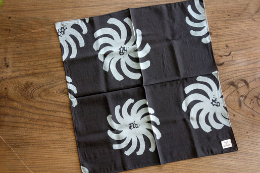 cotton silk bandanna