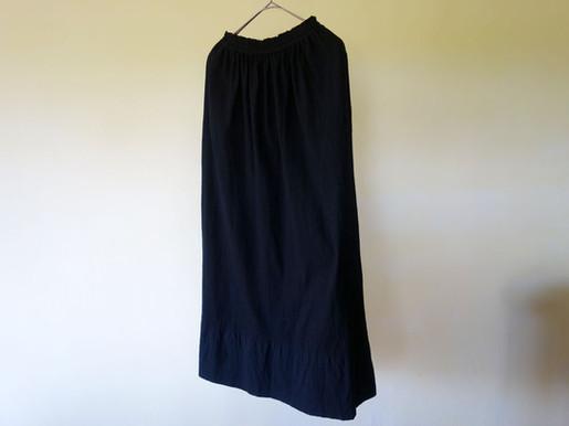 gara-bou khadi skirt natural dyed
