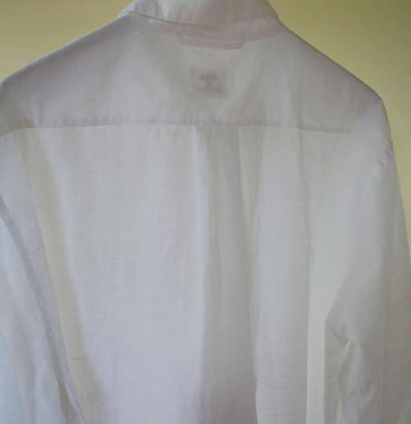 khadi shirt men white