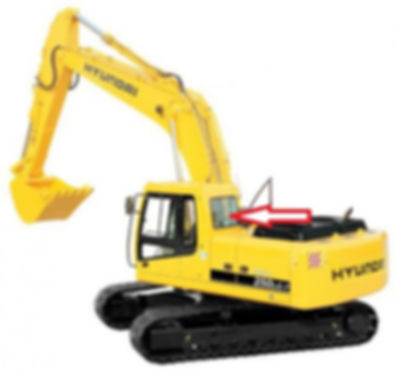 Стекло заднеедля экскаватора гусеничного (колёсного) HYUNDAI ROBEX210 LC-7 | стекло для экскаватора HYUNDAI ROBEX 260 LC-7 |стекло для экскаватора HYUNDAI ROBEX 290 LC-7 |стекло для экскаватора HYUNDAI ROBEX300 LC-7 |стекло для экскаватора HYUNDAI ROBEX 330 LC-7 |стекло для экскаватора HYUNDAI ROBEX450 LC-7 |стекло для экскаватора HYUNDAI ROBEX 480 LC7 |