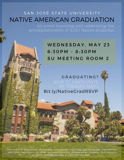 Spring 2018 Native Graduation Participant RSVP