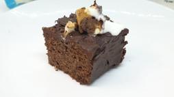 Mud Cake with Chocolate Ganache