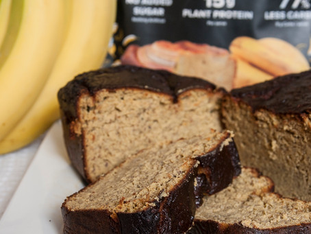 Banana Protein Loaf