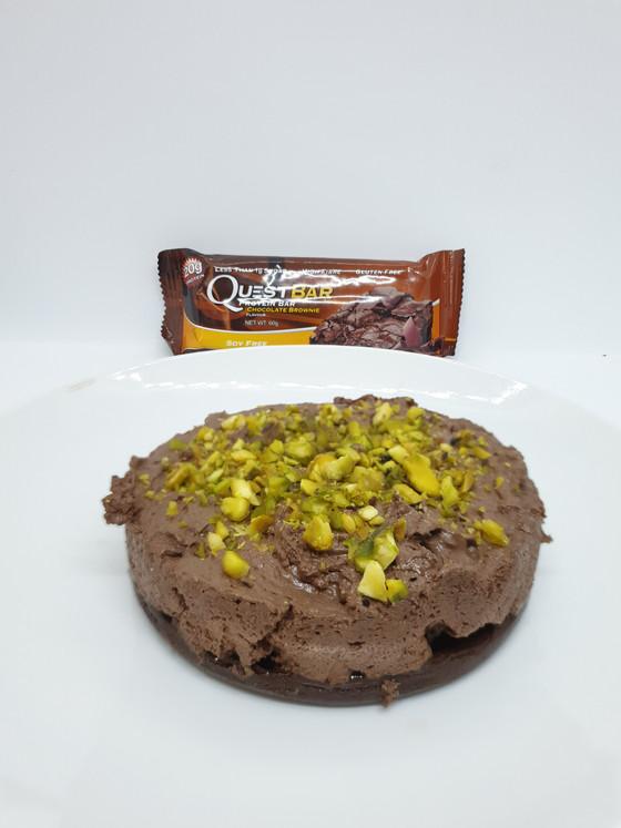 Chocolate Mousse Tart (2 ways)
