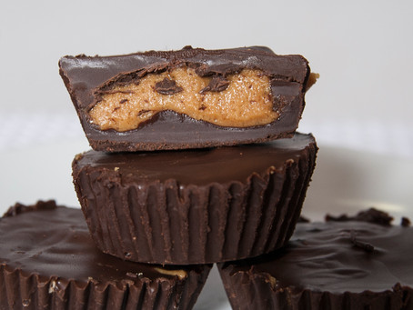 Copycat Reese's Peanut  Butter Cups - Sugar Free