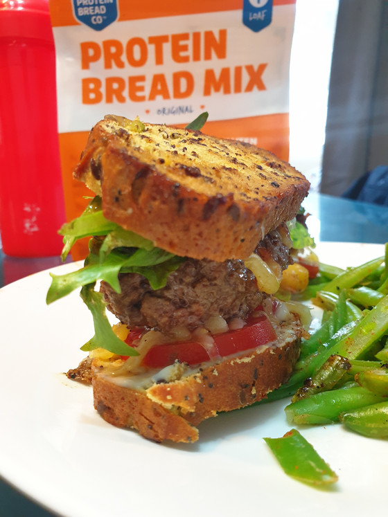 Low-Carb Protein Meatwich