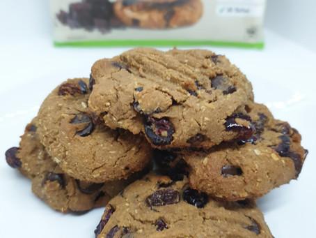 Choc Chip Protein Cookies