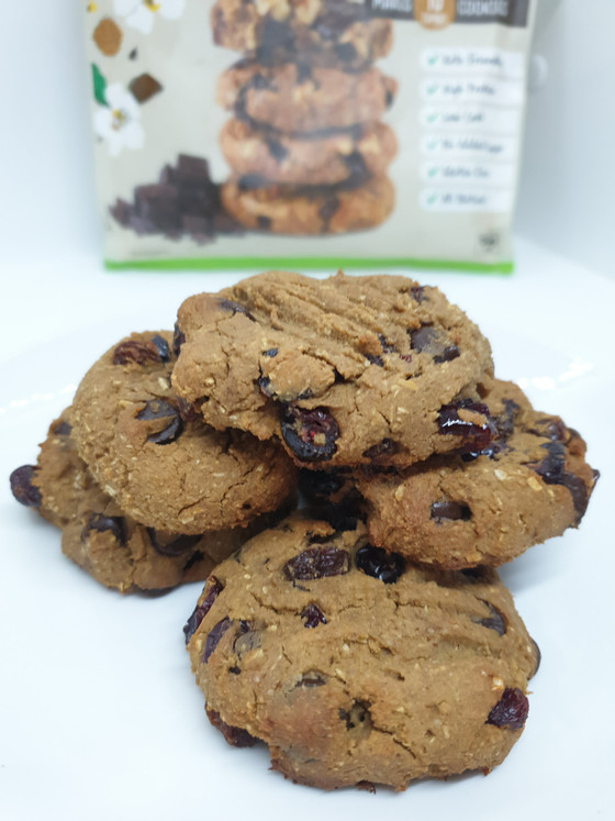 Choc Chip Protein Cookies