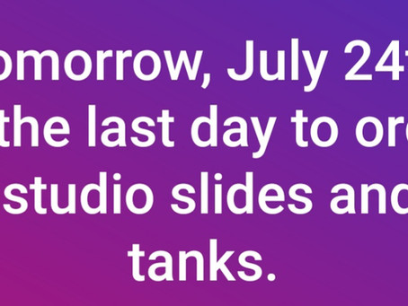 Slides and Tanks