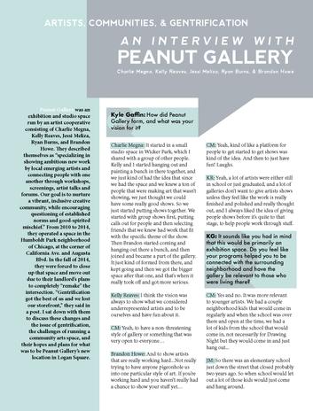 MIAD Bridge Peanut Gallery Page 1
