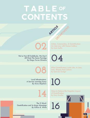MIAD Bridge Table of Contents Page