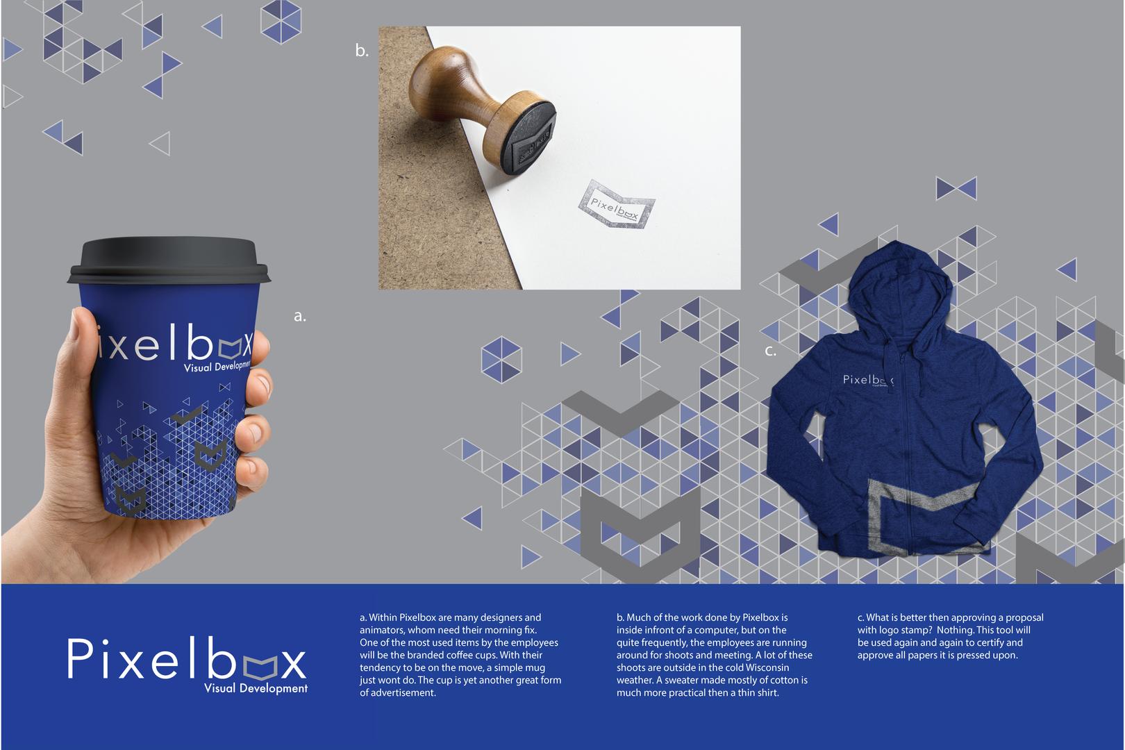 Pixelbox Identity Brand Pitch