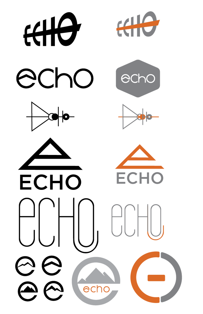 Echo Early Logos