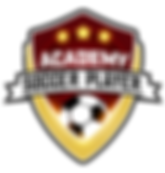 Soccer Player Academy Logo