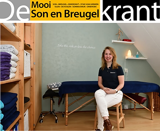 Bazanta in de Mooi Son en Breugel krant