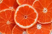 Oranges découpées