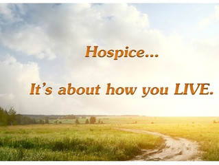 Hospice, Better Sooner than Later