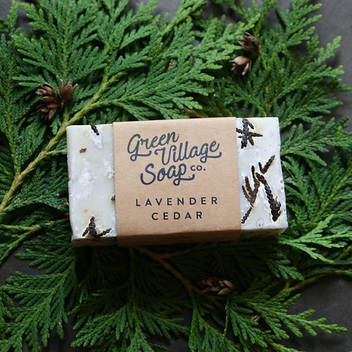 Lavender Cedar Soap