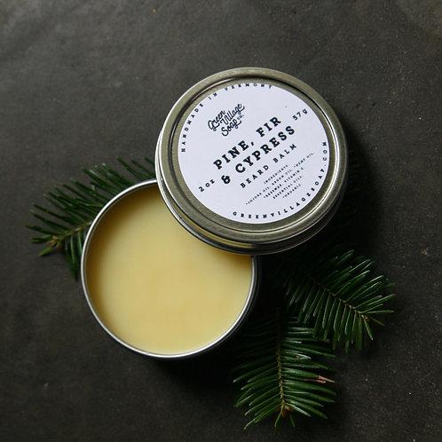 Pine, Fir & Cypress Beard Balm